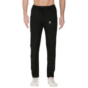 Solid Men Black Men's Track Pants