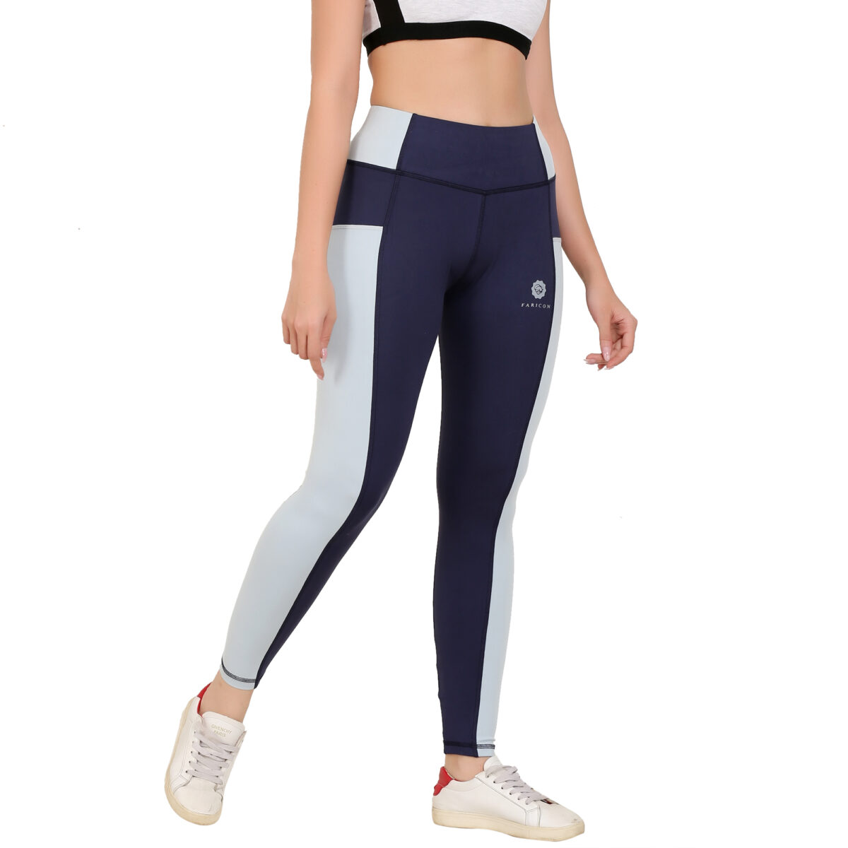 Solid Women Navy grey Tights Jeggings