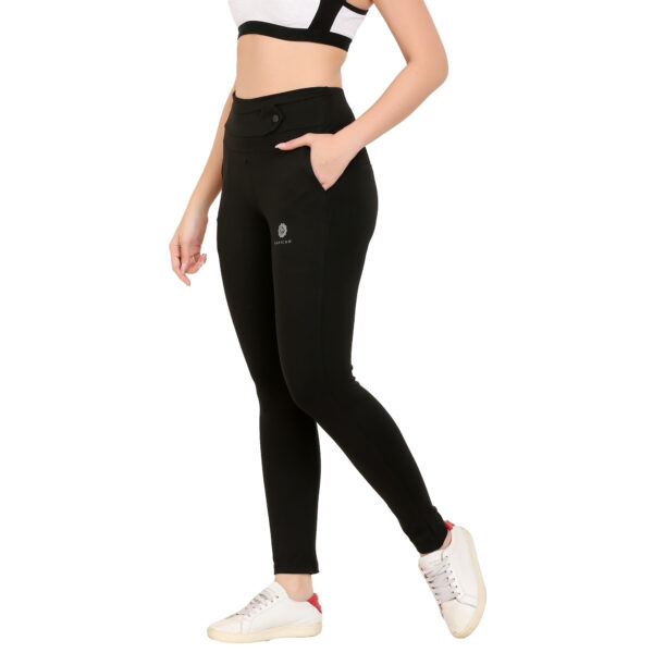 Solid Women Black Tights Jeggings