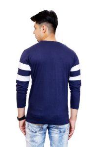 Color Block Men Round Neck T-Shirt